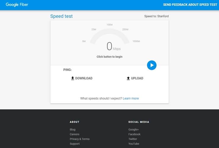 internet speed test sites 1